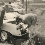 Reperatur und Instandsetzung vor dem Rennen